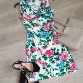 Кайфовое платье в цветочный принт