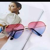 супермодные очки сердечки, тренд этого лета