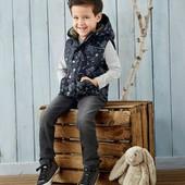 Германия!!! Бомбовая жилетка на флисовом подкладе для мальчика, на весну! 86 рост!