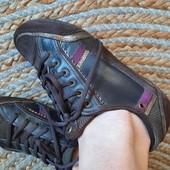 Стильные кроссовки 4rest. Кожа+замш+кожзам+текстиль, 23,5