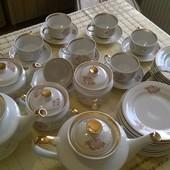 Чайний великий сервіз з часів союзу .все що на фото