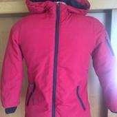 Kуртка, холодная весна, р. 7 лет 122 см, Zara boys. состояние отличное