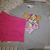 Піжама Щенячий патруль, Скай, бренду Nickelodeon, на ріст 86-92см