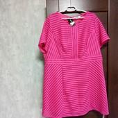 Редкий размер! Фирменное новое красивое платье-туника р.26-28.