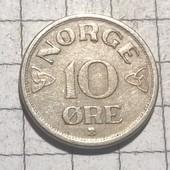 Монпта Норвегии 10 эре 1953