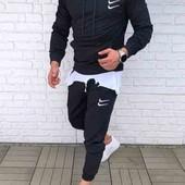 Мужской спортивный костюм NIKE новый размеры 48,50,52,54,56
