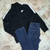 Стильный Фирменный комплект Костюм Джинсы штаны брюки Свитшот реглан кофта худи