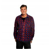 стильная мужская флисовая рубашка от intertek