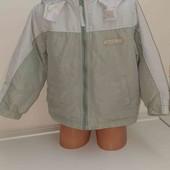 Куртка ветровка на 3-4года