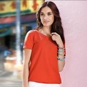 Блуза с декоративной вышивкой от Tchibo(Германия), размеры наши: 42-46 (36/38 евро)
