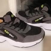 Классные качественные легкие кроссовки!! 42,43р!! темно-серые