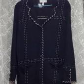 Кардиган, пиджак трикотажный, р-р eвро 44