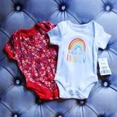 Комплект бодиков George для недоношенной малышки.