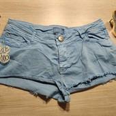 Бершка!!! Джинсовые шорты, женские шорты! 40 евро (48 наш)!