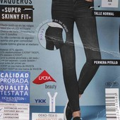 Super Skinny fit push ap Esmara evro 44+6(52)