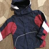 Курточка на флісі на зріст 110