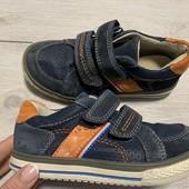 Кожаные кроссовки Tvisty 28 размер стелька 18 см