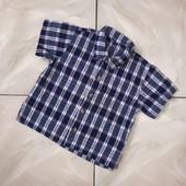 Стоп ❤ Фирменная клетчатая коттоновая рубашка,+-2 года❤ Много лотов!