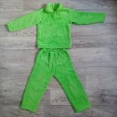 Пижамка травка в хорошем состоянии 2-4 лет