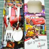 Набор детских столовых приборов   Ложка вилка детская лол ельза патруль маквин