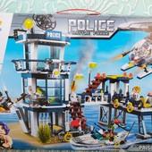 Конструктор brick police enlighten | Полицейский участок | Конструктор Police Battle Force |