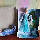 набор Mattel принцесса Эльза стреляет снежинками магия льда
