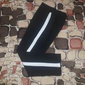 Р.128-134 черные Школьные брюки штаны детские barbarris
