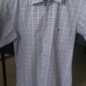 Рубашка с коротким рукавом, замеры на фото