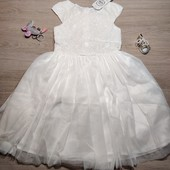 Польша! Шикарное нарядное платье для девочки, пышное платье! 122 рост! 999 грн по ценнику!