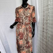 Женское котельное платье фото реальное, размер 52