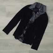 Блуза /комбинированная ткань/