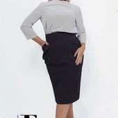 Стильное платье Exclusive, размер 48. Премиум качество.