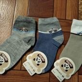 Носочки для мальчиков р.21-26 (3 пары)