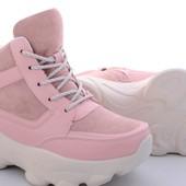 Крутые кроссовки-ботинки