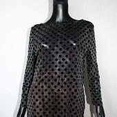 Качество! Стильна блуза/бархатный горошек от Dorothy Perkins, в новом состоянии