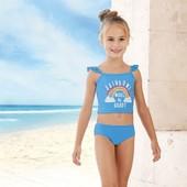 купальник для девочки Lupilu 86-92 новый
