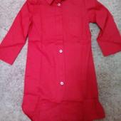 Очаровательные рубашки-туники 100%коттон.смотрим замеры и наличие