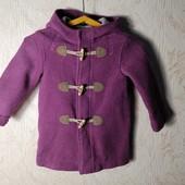 ЛоВиЛоТы! Фиолетовое пальтишко на 3-4 года