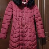 куртка зимняя, теплая, можна на девочку подростка