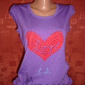 Шикарная туника-футболка, размер 42-44