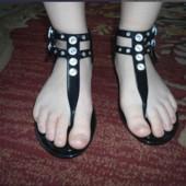 Незаменимая обувь для моря речки в дождь селиконовые басаножки!В лоте размер37!Укр почта 5% скидка