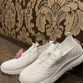Женские кроссовки мокасины белые весенне-летние 37.38.39