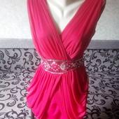 Распродажа.Красивое платья с паедками размер S-M