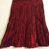 Шикарная нарядная богатая юбка ( ткань жатка , никогда не мнется !)