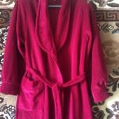 новый махровый халат только без бирки 46-48р
