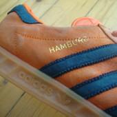 Кроссовки Adidas Hamburg оригинал натур замша 43-44 размер