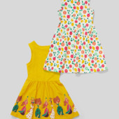 ♥-яркое платье c&a р.134 . одно на выбор-!♥