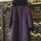 зимнее пальто в очень хорошем состоянии размер 54