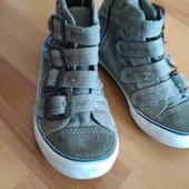 ботиночки джинсовые 18 стелька