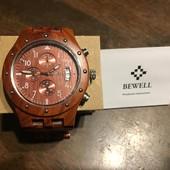 Повністю дерев'яний годинник Bewell